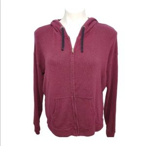 American Eagle Soft & Sexy Terry Zip up Hoodie
